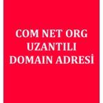 Com Net Org Uzantılı Domain